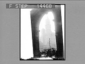 view Woolworth Building, tallest in the world, product of five and tent cent pieces. [Active no. 11403 : non-stereo photonegative] digital asset: Woolworth Building, tallest in the world, product of five and tent cent pieces. [Active no. 11403 : non-stereo photonegative, 1913 or later].