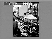 view Winding the fine raw silk in a large American silk throwing plant, Paterson, N.J. 11436 photonegative digital asset: Winding the fine raw silk in a large American silk throwing plant, Paterson, N.J. 11436 photonegative.