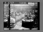"""view """"Weighing"""" and washing silk skeins before dyeing, in Paterson factory, N.J. 11441 photonegative digital asset: """"Weighing"""" and washing silk skeins before dyeing, in Paterson factory, N.J. 11441 photonegative."""