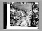 "view ""Warping""--view in a great silk weaving plant, Paterson, N.J. 11446 photonegative digital asset: ""Warping""--view in a great silk weaving plant, Paterson, N.J. 11446 photonegative 1913."