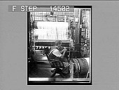 """view """"Entering,"""" a process that requires skill and patience; silk weaving plant, New Jersey. 11448 photonegative 1913 digital asset number 1"""