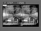 view Weaving plain silk cloth--hundreds of automatic looms in a modern American silk mill. 11449 photonegative digital asset: Weaving plain silk cloth--hundreds of automatic looms in a modern American silk mill. 11449 photonegative 1913.