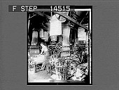view Weaving beautiful fancy patterns, called Jacquard weaving, silk mill, New Jersey. 11459 photonegative digital asset: Weaving beautiful fancy patterns, called Jacquard weaving, silk mill, New Jersey. 11459 photonegative 1913.