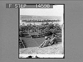 "view The traditional ""Garden of Eden,"" looking east over the Euphrates Valley, 250 miles N.W. of Babylon. [Caption no. 11503 : photonegative,] digital asset: The traditional ""Garden of Eden,"" looking east over the Euphrates Valley, 250 miles N.W. of Babylon. [Caption no. 11503 : photonegative,] 1913."