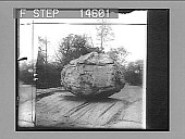 view Work of a glacial age--30-ton boulder left on glacier grooved native rock, Bronx Park. [Active no. 11504 : half-stereo photonegative,] digital asset: Work of a glacial age--30-ton boulder left on glacier grooved native rock, Bronx Park. [Active no. 11504 : half-stereo photonegative,] 1913.