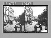 view Palace of the President of Bolivia with Military Guard, La Paz. [Active no. 11537 : stereo photonegative,] 1906 digital asset number 1