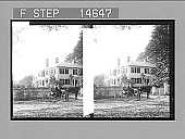 view Home of Ralph Waldo Emerson, Concord. [Active no. 11545 : stereo photonegative,] digital asset: Home of Ralph Waldo Emerson, Concord. [Active no. 11545 : stereo photonegative,] 1900.