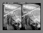 view [Workers in factory. Active no. 12516 : stereo photonegative.] digital asset number 1