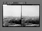view [Distant view of city. Active no. 13195 : stereo photonegative,] 1900 digital asset number 1