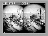 view [Dock scene. Active no. 13485 : stereo photonegative.] digital asset number 1