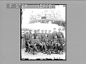 view Officers of the U.S. Monitor 'Monterey' (reinforcements for Dewey). Copyright 1898 by Strohmeyer & Wyman. [on negative] [half-stereo photonegative,] digital asset: Officers of the U.S. Monitor 'Monterey' (reinforcements for Dewey). Copyright 1898 by Strohmeyer & Wyman. [on negative] [half-stereo photonegative,] 1898.