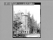 view [Exterior view of McMaster University building. Active no. 20256 : non-stereo photonegative.] digital asset: [Exterior view of McMaster University building. Active no. 20256 : non-stereo photonegative.]