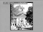 view Ryerson Statue, Normal School, Toronto, Canada [on envelope]. Active no. 20270 : half-stereo photonegative digital asset: Ryerson Statue, Normal School, Toronto, Canada [on envelope]. Active no. 20270 : half-stereo photonegative.