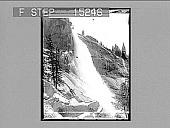 view Nevada Falls (700 feet high), Yosemite Valley, California. Copyright 1894 by Strohmeyer & Wyman. [on negative] [Active no. 20310 : stereo photonegative,] digital asset: Nevada Falls (700 feet high), Yosemite Valley, California. Copyright 1894 by Strohmeyer & Wyman. [on negative] [Active no. 20310 : stereo photonegative,] 1894.