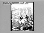 view Yosemite Falls from Glacier Point Trail, California. Copyright 1899 by Strohmeyer & Wyman. [on negative] [Active no. 20320 : half-stereo photonegative,] digital asset: Yosemite Falls from Glacier Point Trail, California. Copyright 1899 by Strohmeyer & Wyman. [on negative] [Active no. 20320 : half-stereo photonegative,] 1899.