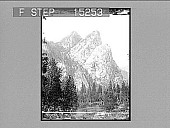 view The Three Brothers, Yosemite Valley, California. Copyright 1900 by Underwood & Underwood. [on negative] [Active no. 20339 : non-stereo photonegative,] digital asset: The Three Brothers, Yosemite Valley, California. Copyright 1900 by Underwood & Underwood. [on negative] [Active no. 20339 : non-stereo photonegative,] 1900.