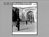 view West Point Cadets passing under the Triumphal Arch, Dewey Celebration, New York. Copyright 1899 by Strohmeyer & Wyman. [on envvelope] [Active no. 20429 : half-stereo photonegative,] digital asset: West Point Cadets passing under the Triumphal Arch, Dewey Celebration, New York. Copyright 1899 by Strohmeyer & Wyman. [on envvelope] [Active no. 20429 : half-stereo photonegative,] 1899.