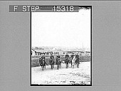 view [Six soldiers on horseback. Active no. 20573 : stereo photonegative.] digital asset number 1
