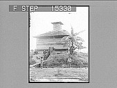 view A Spanish Block House, Cienfuegos, Cuba. Copyright 1899 by Strohmeyer & Wyman. [on negative.] [Caption no. 2059? : non-stereo photonegative,] 1899 digital asset number 1