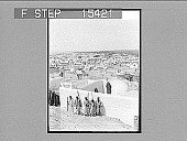 view The Great Egyptian City of the Dead, Asyut, Upper Egypt. Copyright 1896 by Underwood & Underwood. [on negative] [Active no. 20865 : non-stereo photonegative], 1896 digital asset number 1