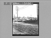 view [View from street of seriously damaged city buildings. Active no. 21084 : non-stereo photonegative,] 1906 digital asset number 1