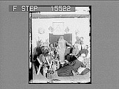 """view """"Be the Howly St. Patrick!--there's Mickie's Ghost."""" Copyright 1894 by Strohmeyer & Wyman. [on negative] : [half-stereo photonegative,] digital asset: """"Be the Howly St. Patrick!--there's Mickie's Ghost."""" Copyright 1894 by Strohmeyer & Wyman. [on negative] : [half-stereo photonegative,] 1894."""
