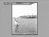 view [Seascape with sailboat.] [Active no. 22042: non-stereo photonegative.] digital asset number 1