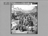 view Paddy's Market, Cork, Ireland. Copyright 1896 by Strohmeyer & Wyman. [on negative] [Active no. 22047 : non-stereo photonegative] digital asset: Paddy's Market, Cork, Ireland. Copyright 1896 by Strohmeyer & Wyman. [on negative] [Active no. 22047 : non-stereo photonegative], 1896.