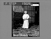 view [Child in nightgown standing in home. Active no. 22070 : non-stereo photonegative.] digital asset number 1