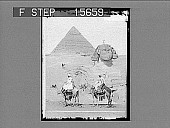 view [Pyramids and Sphinx, Egypt.] Active no. 22112 : half-stereo photonegative digital asset number 1