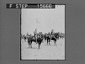 view [Soldiers on horseback. Active no. 22121 : non-stereo photonegative.] digital asset number 1