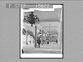 view Main Corridor, City Hall, Toronto, Canada. Copyright 1900 by Underwood & Underwood. [on negative] [Active no. 22545 : non-stereo photonegative,] digital asset: Main Corridor, City Hall, Toronto, Canada. Copyright 1900 by Underwood & Underwood. [on negative] [Active no. 22545 : non-stereo photonegative,] 1900.