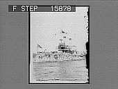 "view The Battleship ""Iowa"" fighting. Bob Evans captain. [on negative] [Active no. 22708 : half-stereo photonegative.] digital asset number 1"
