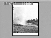 view ----side Geyser in eruption, Yellowstone Park, U.S.A. Copyright 1901 by Underwood & Underwood. [on negative] [Active no. 22808 : non-stereo photonegative,] digital asset: ----side Geyser in eruption, Yellowstone Park, U.S.A. Copyright 1901 by Underwood & Underwood. [on negative] [Active no. 22808 : non-stereo photonegative,] 1901.