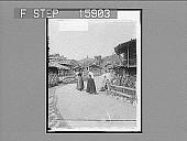 view [Street scene.] 22817 Photonegative digital asset number 1