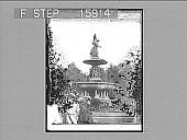 view [Park scene in New York City.] 22870 Photonegative digital asset: [Park scene in New York City.] 22870 Photonegative.