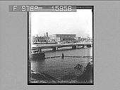 view [Bridge in Scandinavia. Active no. 23103 : non-stereo photonegative,] digital asset: [Bridge in Scandinavia. Active no. 23103 : non-stereo photonegative,] 1896.