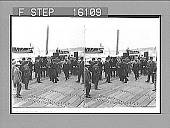 view President Roosevelt, in the Green Mountain State, steamer landing, Burlington, Vt. Copyright 1903 by Underwood & Underwood. (on negative) 23513 : stereo photonegative digital asset: President Roosevelt, in the Green Mountain State, steamer landing, Burlington, Vt. Copyright 1903 by Underwood & Underwood. (on negative) 23513 : stereo photonegative, 1903.