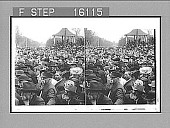 "view ""A sea of faces--President Roosevelt's splendid welcome to Lincoln, Nebraska. Copyright 1903 by Underwood & Underwood."" (on negative). Active no. 23521 : stereoscopic photonegative digital asset: ""A sea of faces--President Roosevelt's splendid welcome to Lincoln, Nebraska. Copyright 1903 by Underwood & Underwood."" (on negative). Active no. 23521 : stereoscopic photonegative, 1903."