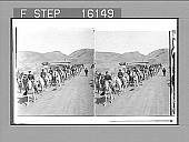 view Fort Yellowstone Cavalry--the U.S. Soldiers who guard the great National Park. Copyright 1903 by Underwood & Underwood. [on negative] [Active no. 23572 : stereo photonegative,] digital asset: Fort Yellowstone Cavalry--the U.S. Soldiers who guard the great National Park. Copyright 1903 by Underwood & Underwood. [on negative] [Active no. 23572 : stereo photonegative,] 1903.