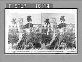 """view """"The Captain-General's Palace, Havana, Cuba, Jan. 1, 1899 (looking north). Copyright 1899 by Strohmeyer & Wyman."""" [on negative] 23642 Photonegative digital asset: """"The Captain-General's Palace, Havana, Cuba, Jan. 1, 1899 (looking north). Copyright 1899 by Strohmeyer & Wyman."""" [on negative] 23642 Photonegative 1899."""