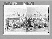 """view """"------ and Plaza, from near the Columbus Memorial, Havana, Cuba. Copyright 1899 by Strohmeyer & Wyman."""" [on negative] 23651 Photonegative digital asset: """"------ and Plaza, from near the Columbus Memorial, Havana, Cuba. Copyright 1899 by Strohmeyer & Wyman."""" [on negative] 23651 Photonegative 1899."""