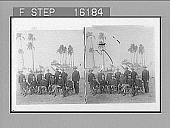"view ""-----field and Staff Officers, 49th Iowa Vol., Camp Columbia, Havana, Cuba. Copyright 1899 by Strohmeyer & Wyman."" [on negative] 23661 Photonegative digital asset: ""-----field and Staff Officers, 49th Iowa Vol., Camp Columbia, Havana, Cuba. Copyright 1899 by Strohmeyer & Wyman."" [on negative] 23661 Photonegative 1899"