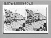view [Military scene in Canada.] 23851 Photonegative 1896 digital asset number 1
