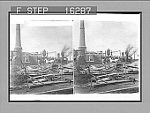 """view -----re repaired in a """"rush"""" to save the city from a water famine.... Copyright 1900 by Underwood & Underwood. [on negative] [Active no. 23909 : stereo photonegative,] digital asset: -----re repaired in a """"rush"""" to save the city from a water famine.... Copyright 1900 by Underwood & Underwood. [on negative] [Active no. 23909 : stereo photonegative,] 1900."""