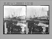 view ----- for Cuban Invasion, Tampa, U.S.A. Copyright 1898 by Strohmeyer & Wyman. [on negative] [Active no. 23994 : stereo photonegative,] 1898 digital asset number 1