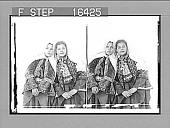view [Young Girls of Bethlehem of Judea, Palestine. Copyright 1896 by Underwood & Underwood.] on negative 24250 Photonegative 1896 digital asset number 1