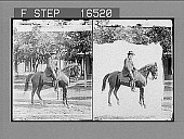 view [William Jennings Bryan?] ...on his favorite Saddle Horse, at his home, Lincoln, Nebraska. Copyright Underwood & Underwood. [on negative.] [Active no. 24646 : stereo photonegative,] digital asset: [William Jennings Bryan?] ...on his favorite Saddle Horse, at his home, Lincoln, Nebraska. Copyright Underwood & Underwood. [on negative.] [Active no. 24646 : stereo photonegative,] ca. 1900.