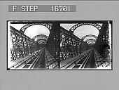 view [Railroad bridge.] 26439 photonegative digital asset number 1