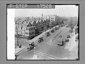 view [Parade of horse-drawn Bond Bread wagons. Active no. 1757 : black-and-white photonegative.] digital asset: [Parade of horse-drawn Bond Bread wagons. Active no. 1757 : black-and-white photonegative.]